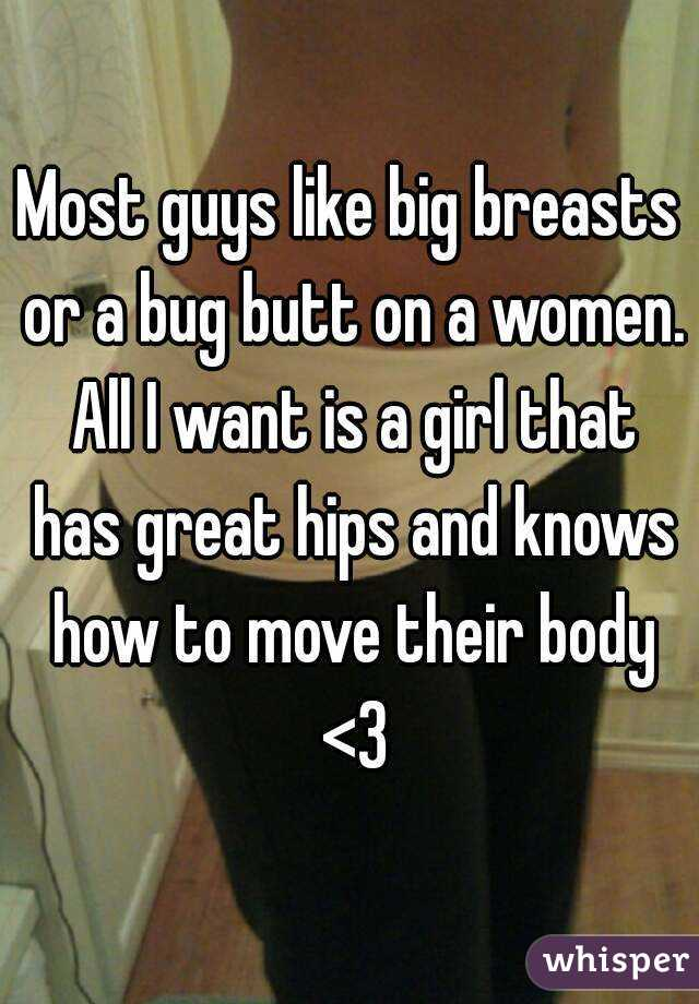 why guys like breasts