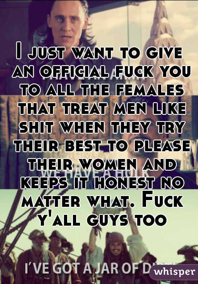 Men like to fuck