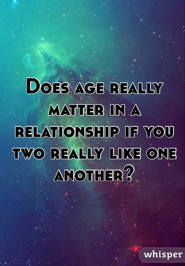 How Much Does Age Matter In A Relationship