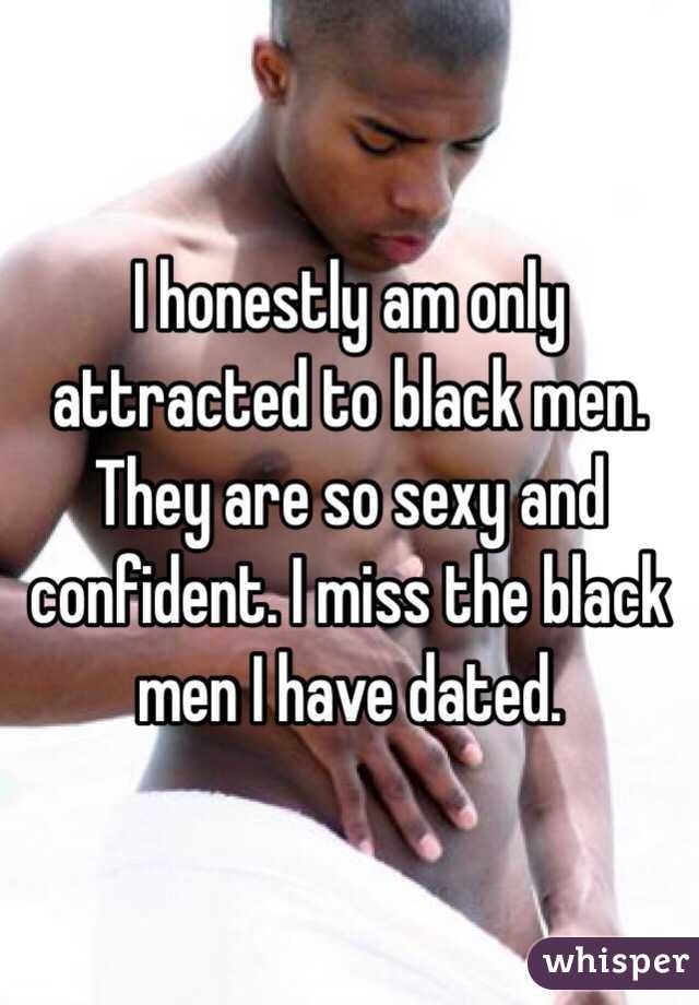 Attracted to black men