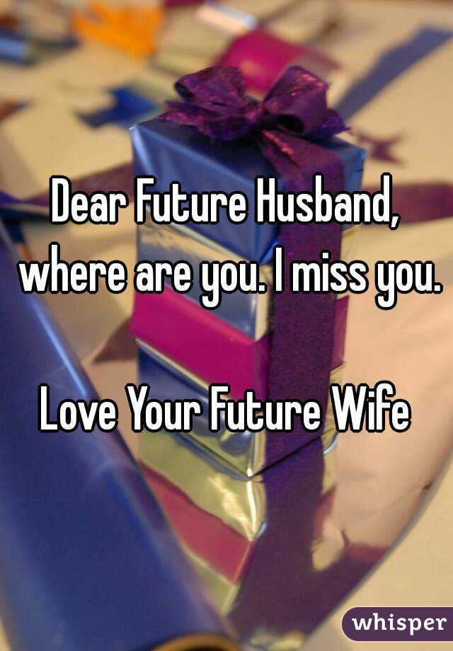 How To Predict Your Future Husband