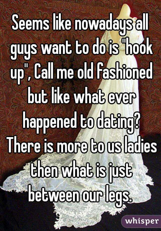 I Want To Hook Up With An Older Guy