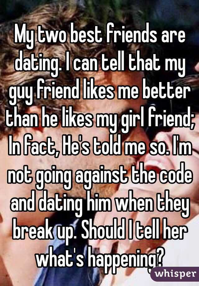 Ex girlfriend dating another guy