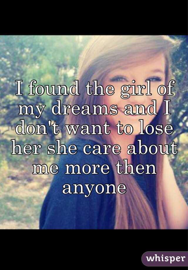 i found that girl