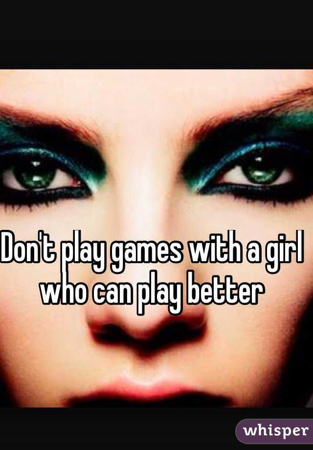 How to play games with girls