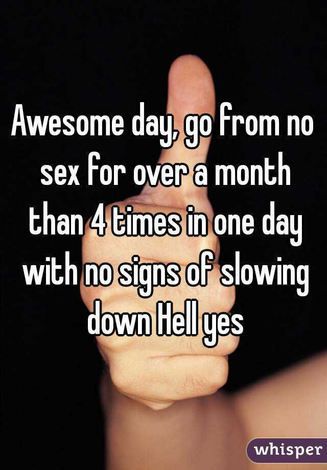 No sex for a month pics 44