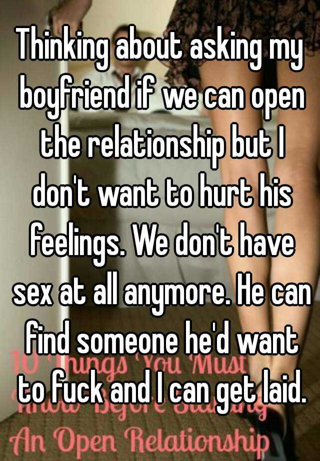 Why does my boyfriend not want to have sex anymore