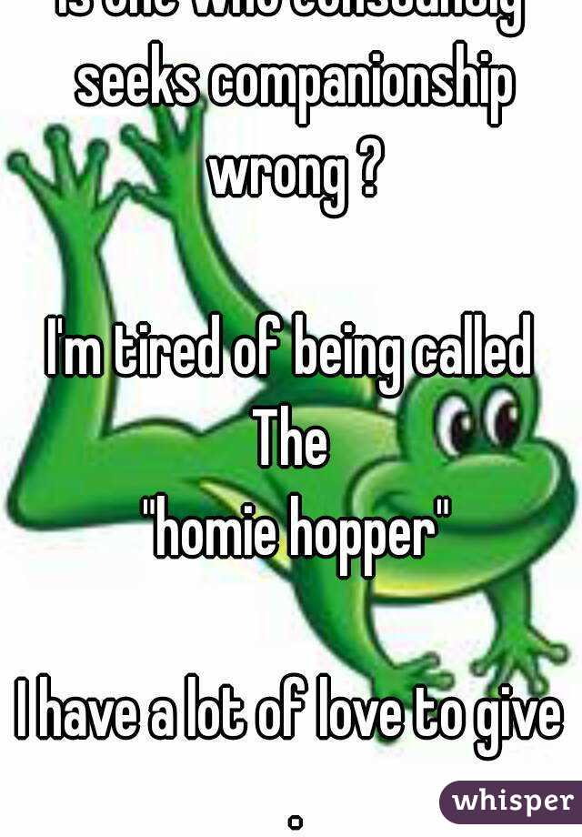 What is a homie hopper