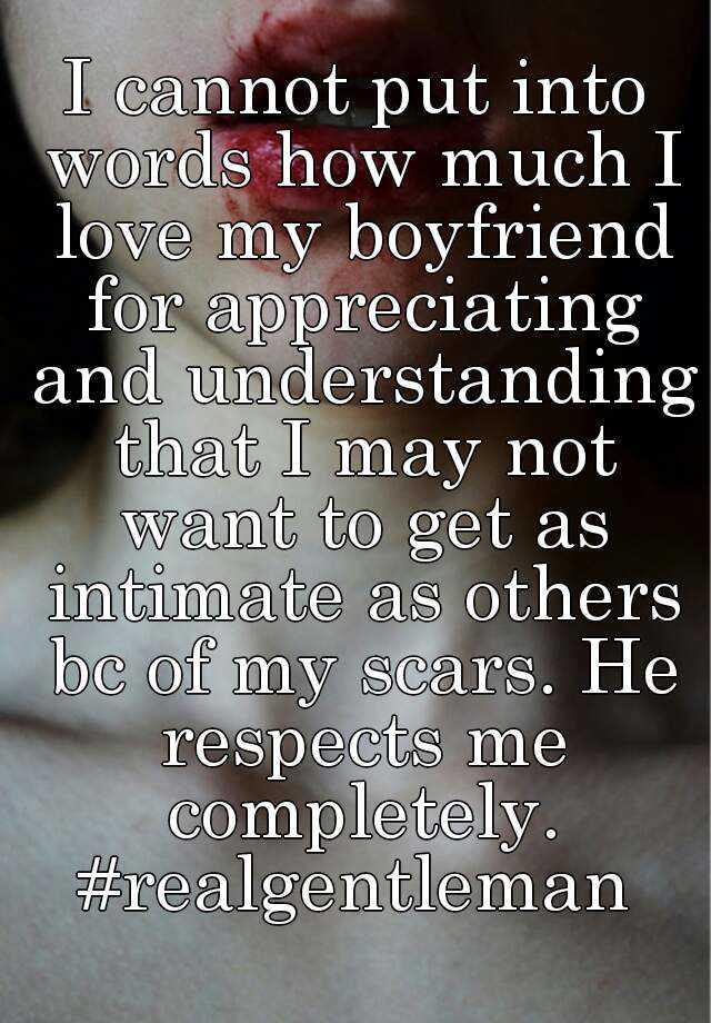 Words for my boyfriend