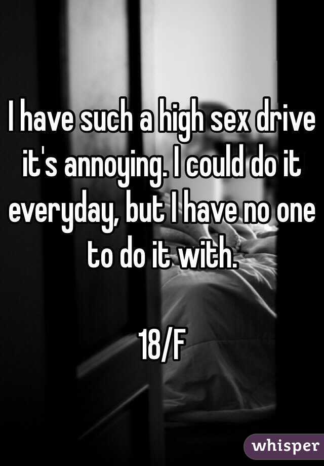 What to do if you have a high sex drive