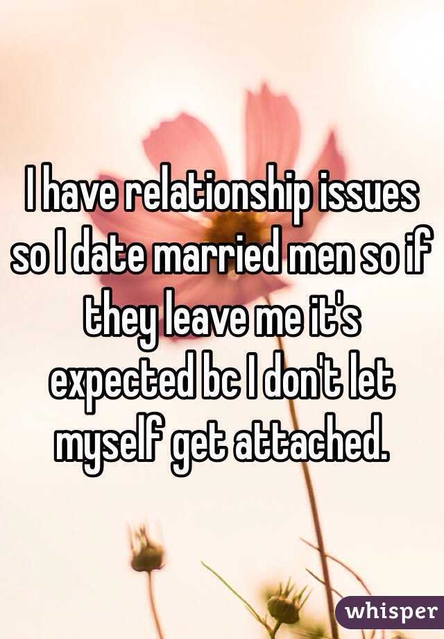 why not to date a married man