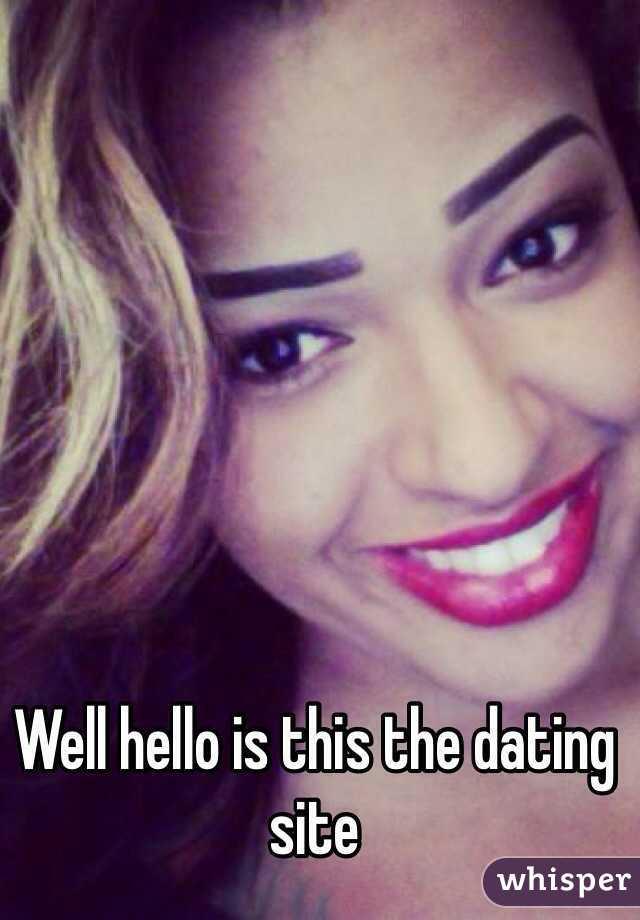 Hello singles dating