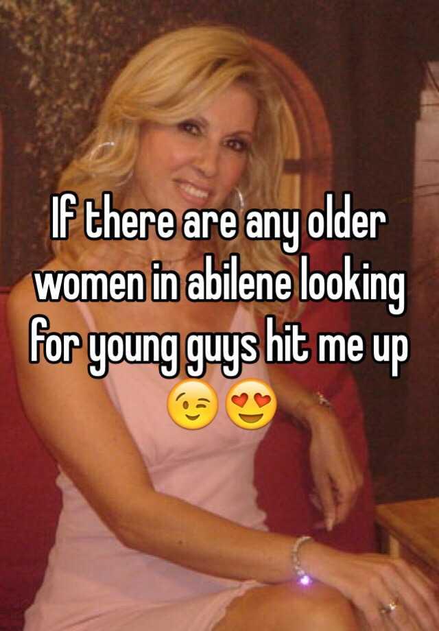 older women seeking younger men