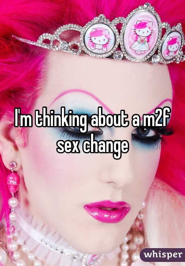 m2f sex change
