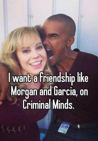 garcia and morgan dating on criminal minds
