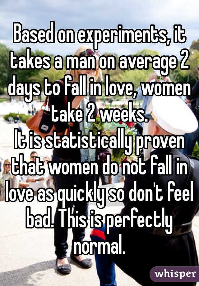 Can a man fall in love in a month