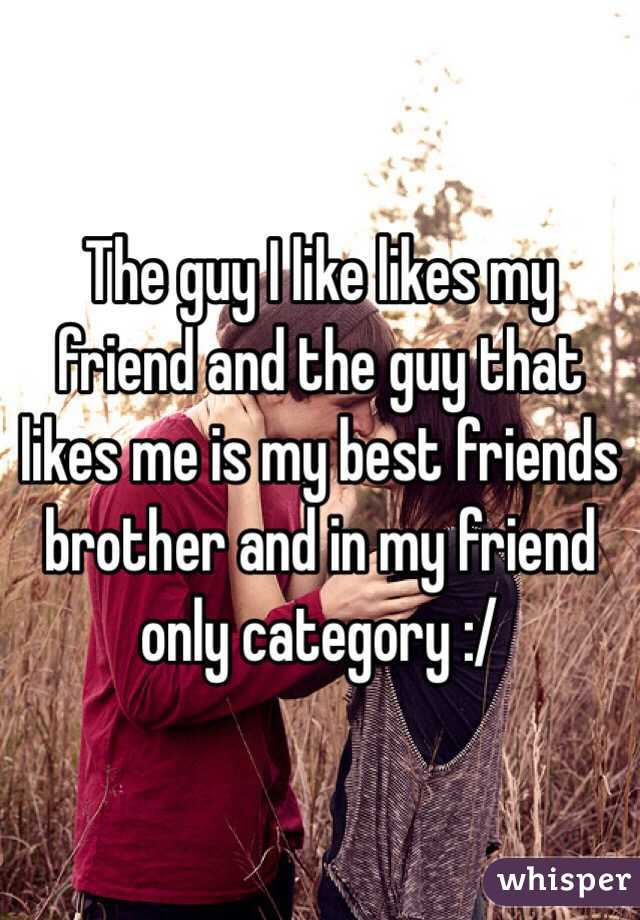 My Me Signs Likes Guy Best Friend