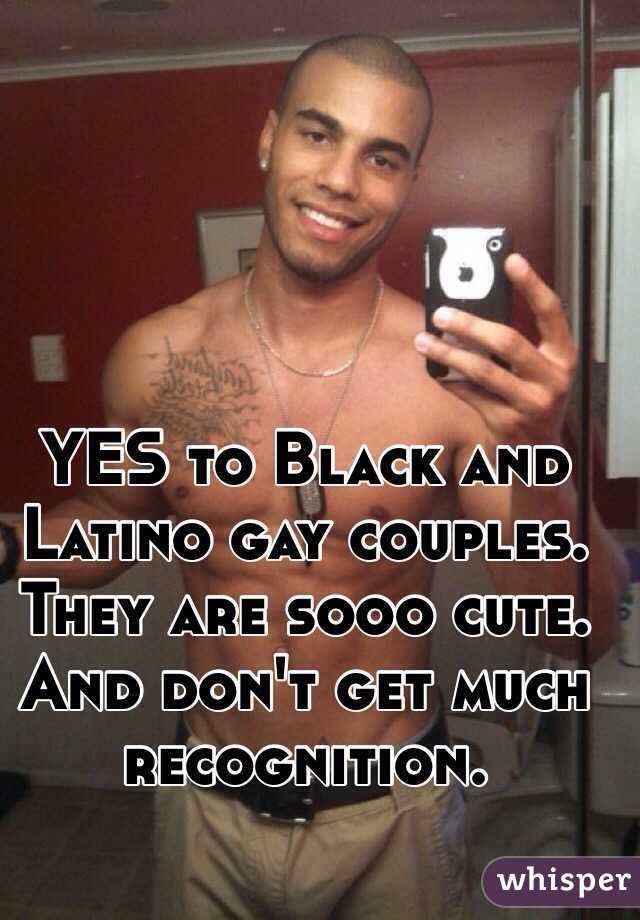 Black on white gay tgp