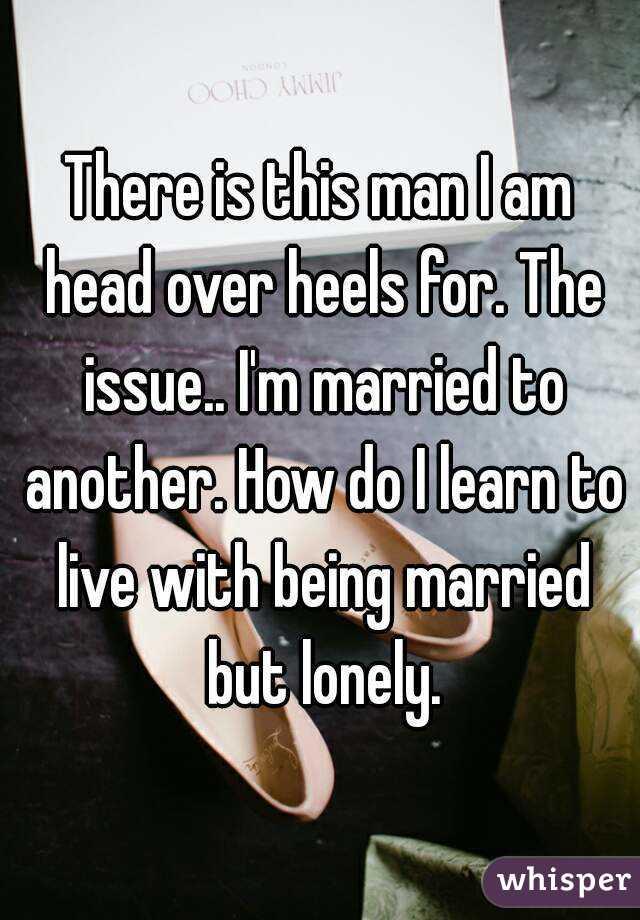 Am married but lonely