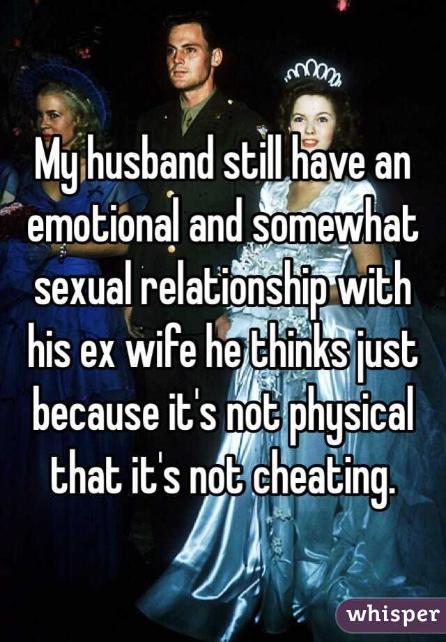 my husband is dating his ex