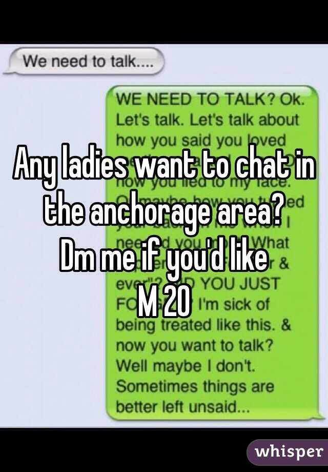 Anchorage chat