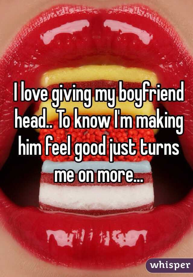 How To Give A Guy Really Good Head