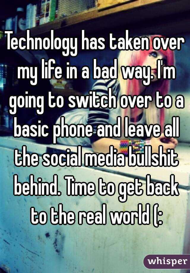 technology has taken over the world