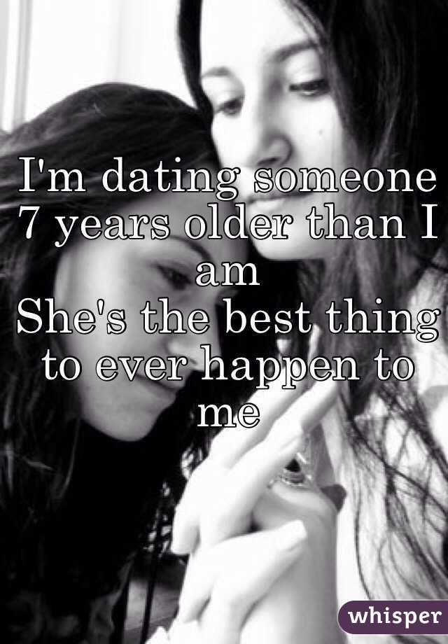 girl older than guy dating