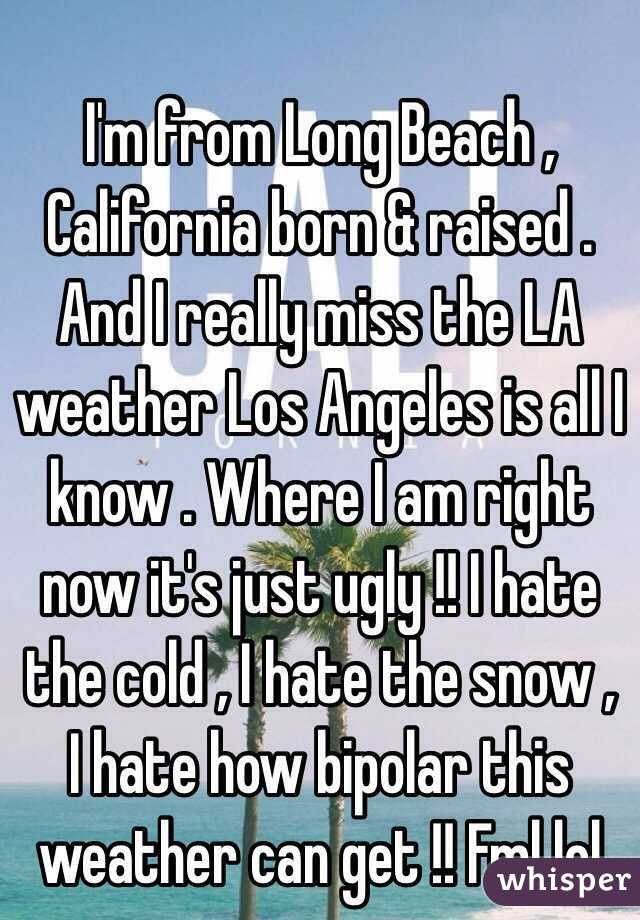 I m from long beach