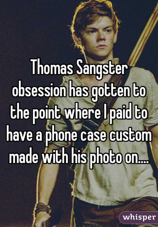 finest selection 82473 d2ddf Thomas Sangster obsession has gotten to the point where I paid to ...