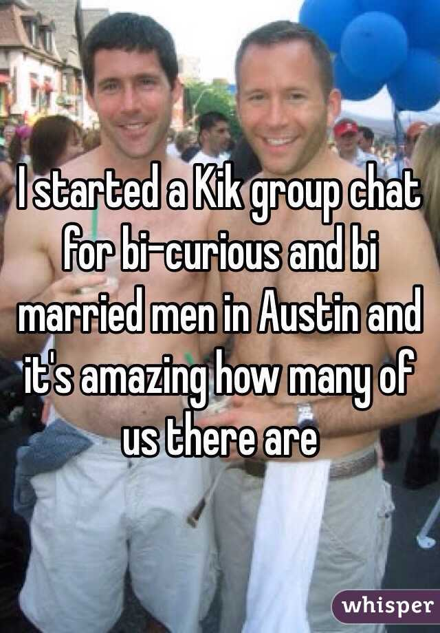 Bisexual married guys