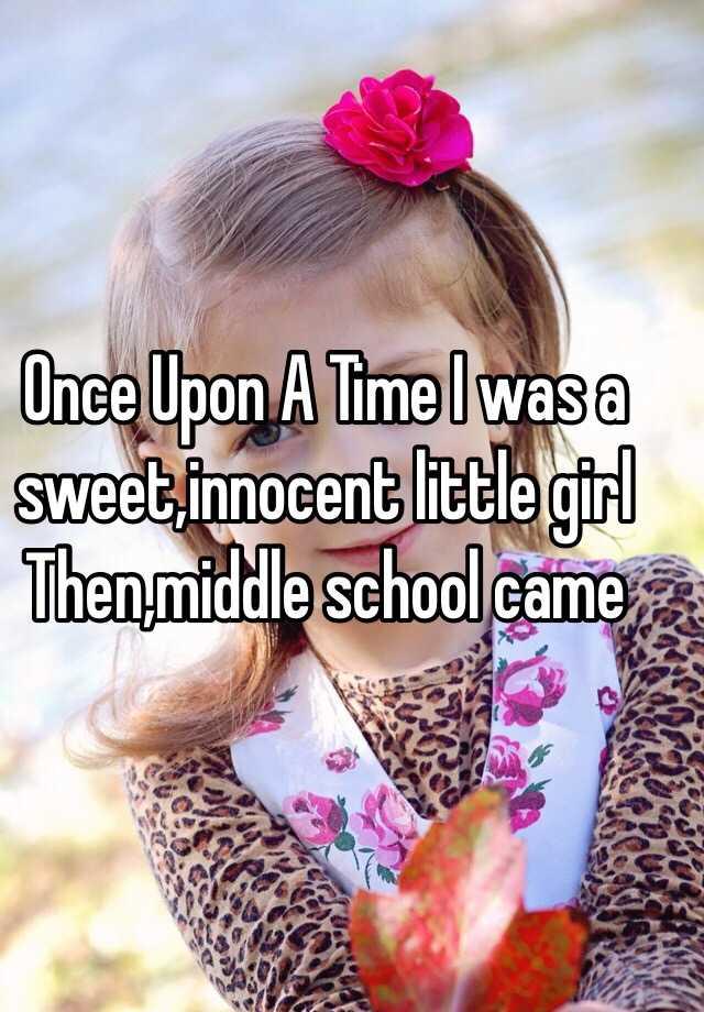 Innocent middle school girls opinion