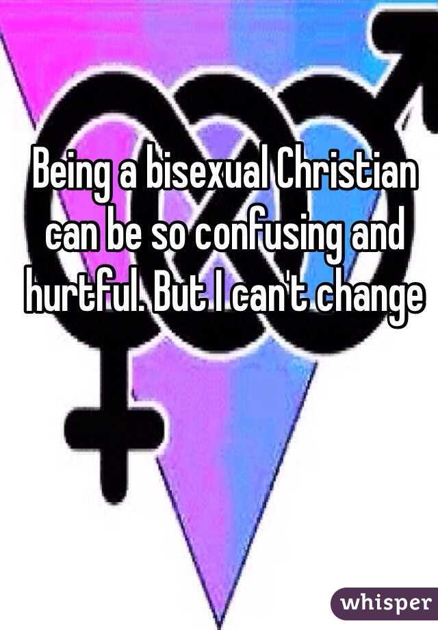 Bisexual and christian