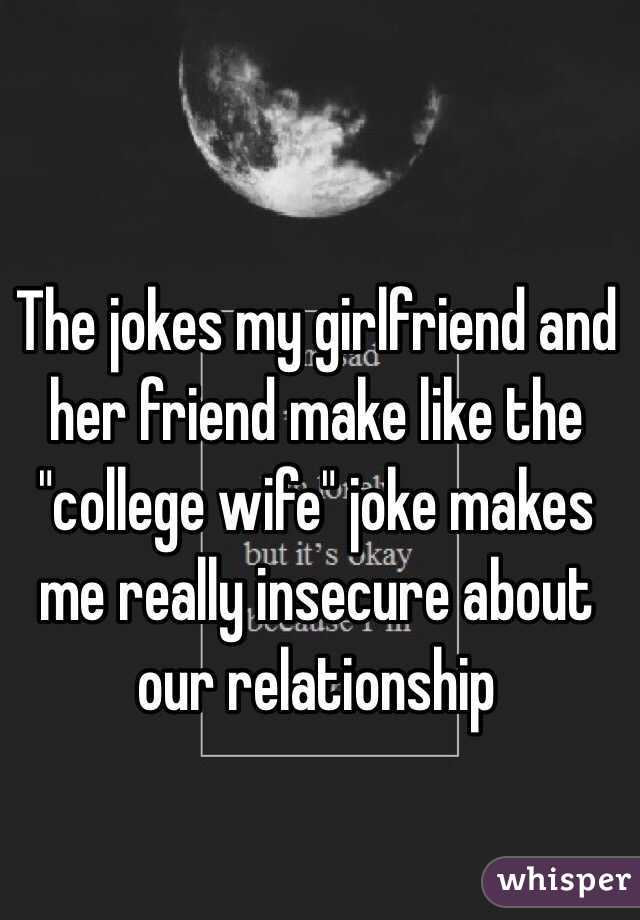 Girlfriend jokes - Have a laugh with these funny jokes