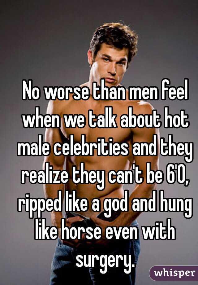 Ripped hung men