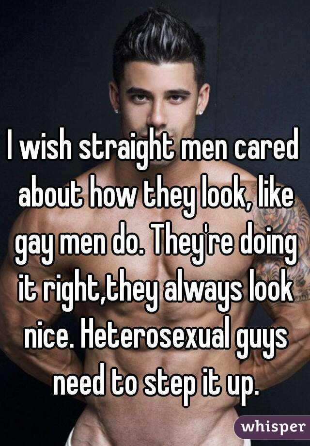 Why do gay men
