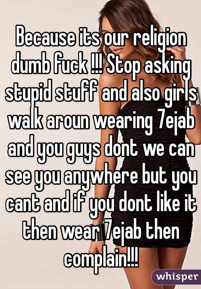 girls guys fucking dumb