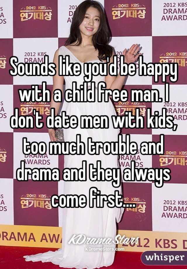 Childfree men