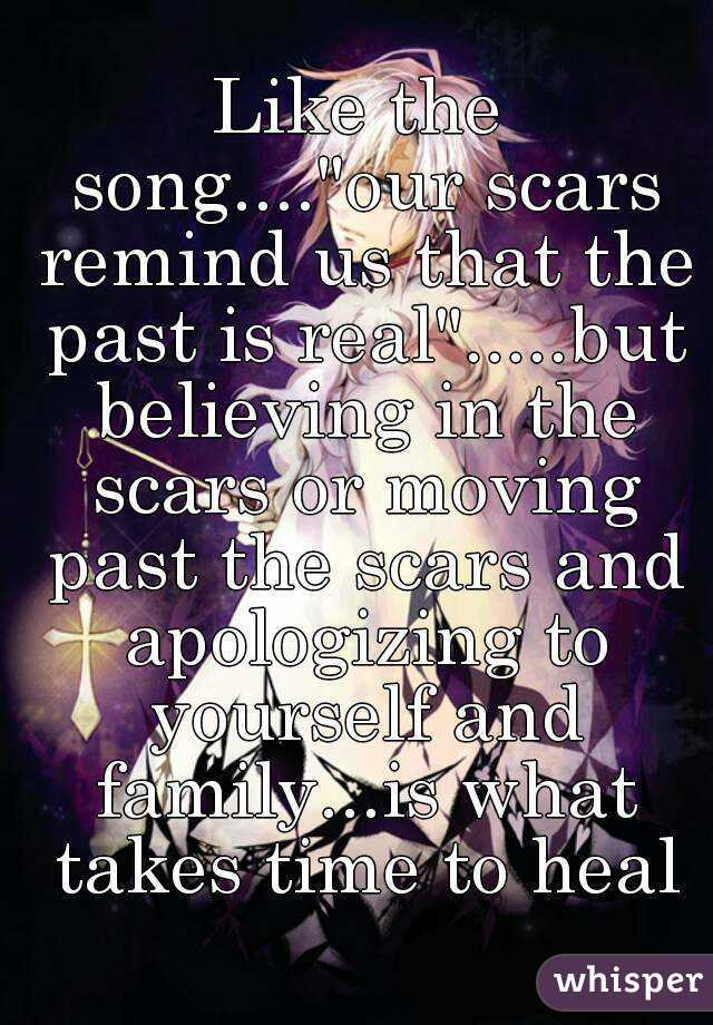 Songs about moving on from the past