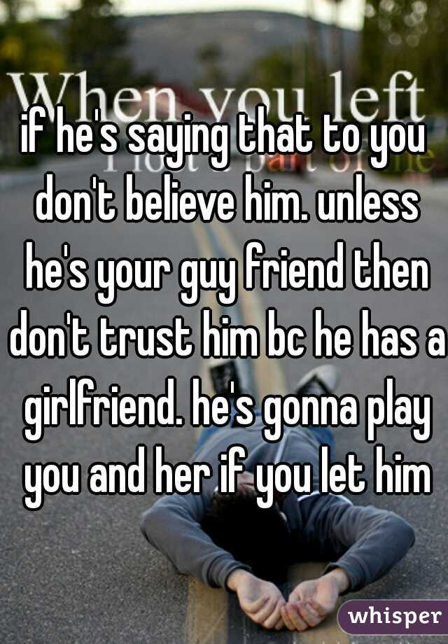 What to do when you don t trust your girlfriend