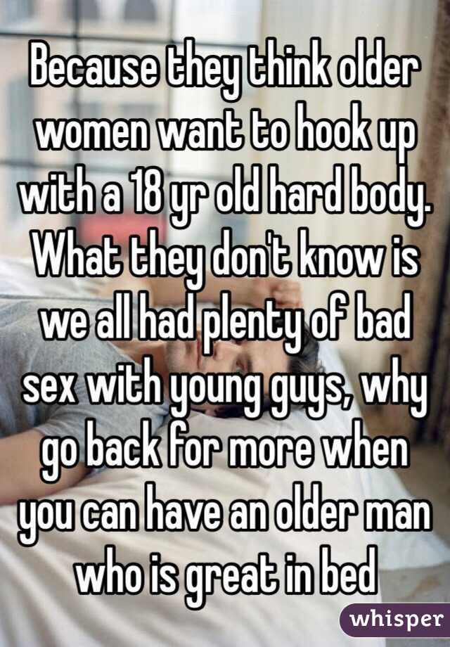 Why hookup an older man is good
