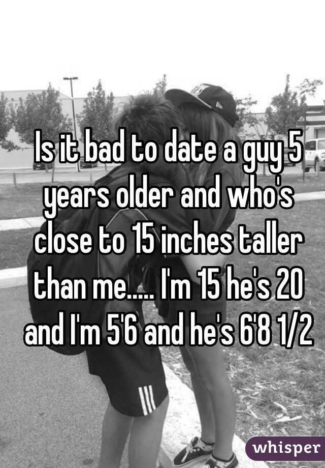 Years Older Dating A 3 Guy
