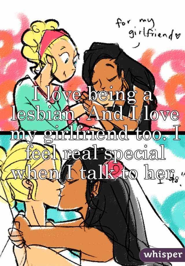 My lesbian girlfriends