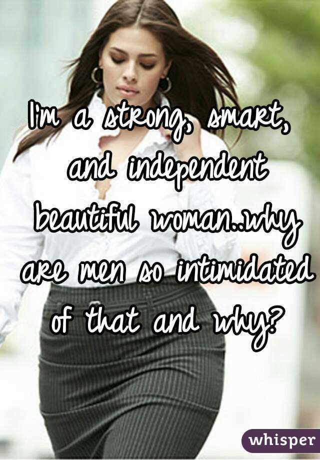 why are men intimidated by beautiful women