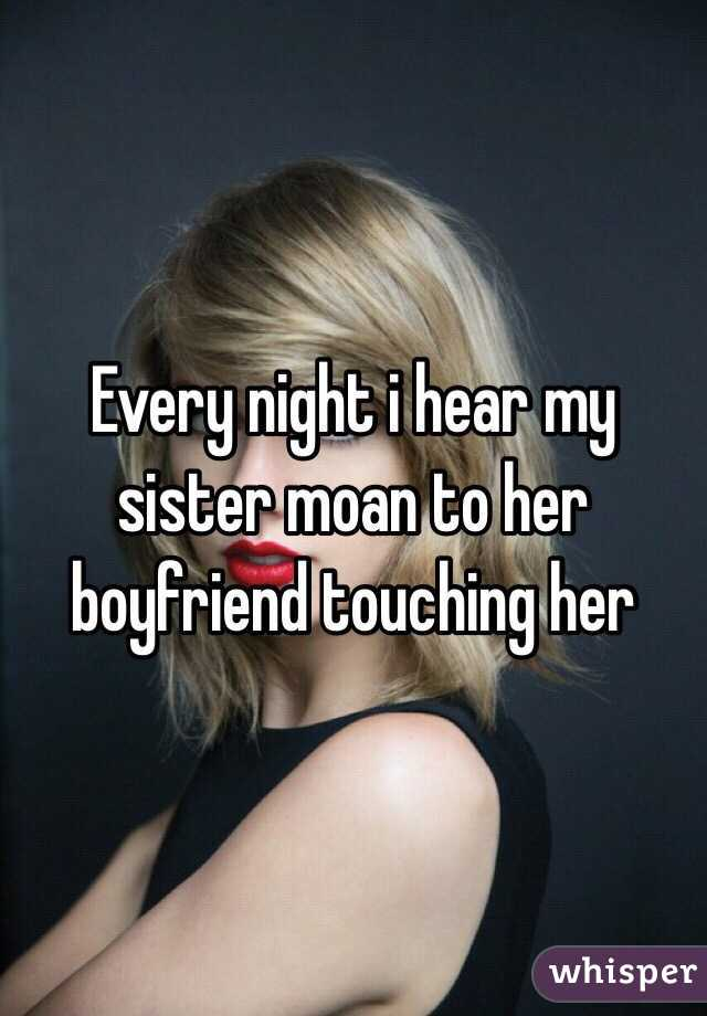 Touching Sister At Night