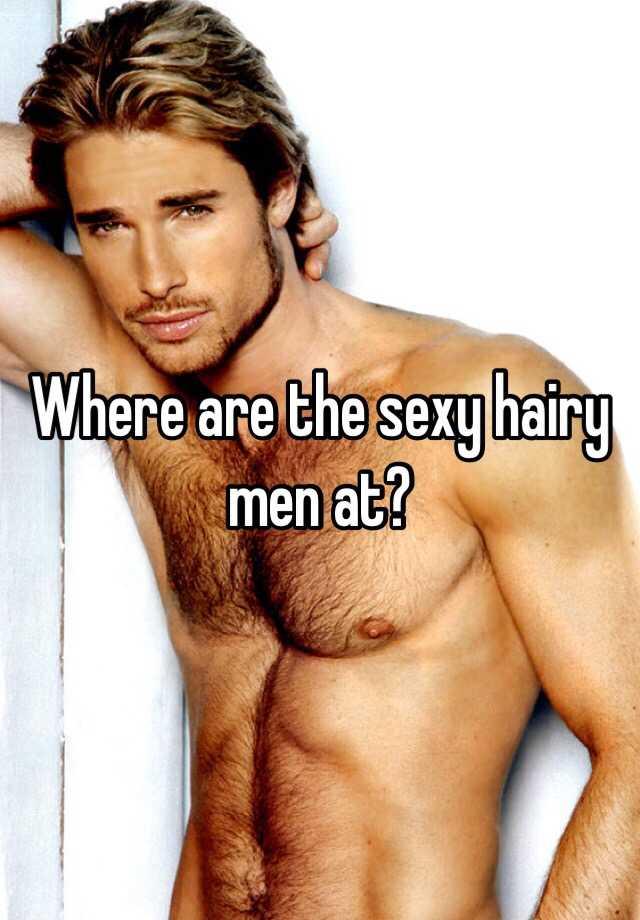 Sexy hairy guy