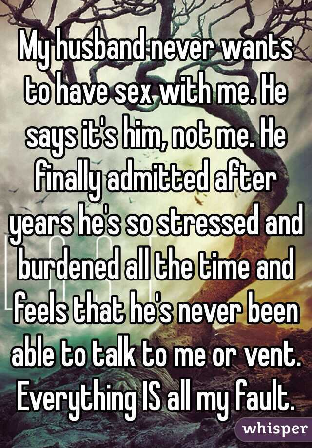 Partner never wants sex