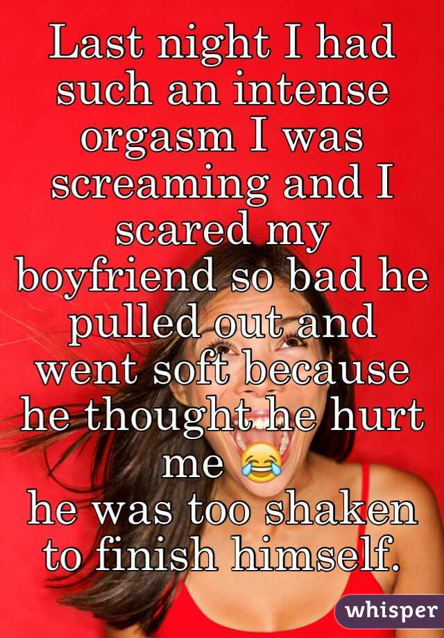 Screaming orgasm pics