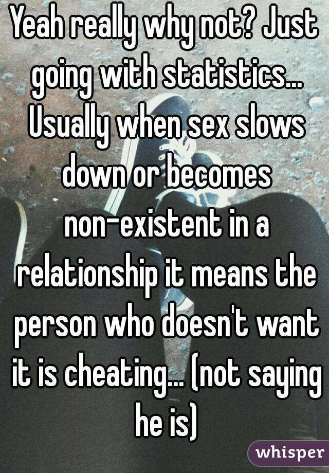 When sex is not cheating