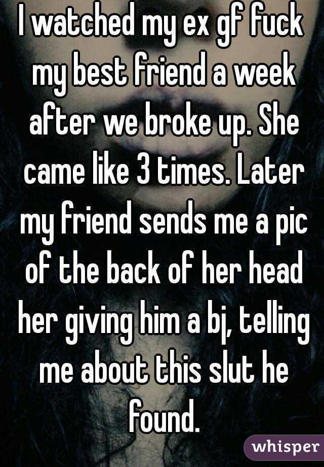 She Fucked My Friend